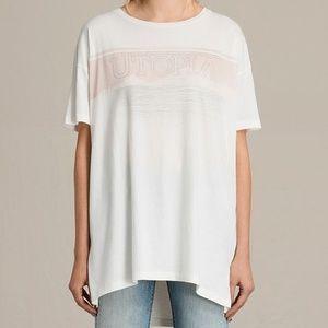 AllSaints oversized t-shirt